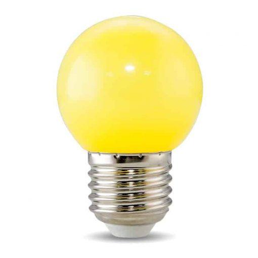 Đèn Led Bulb Trang Trí Rạng Đông Màu Vàng