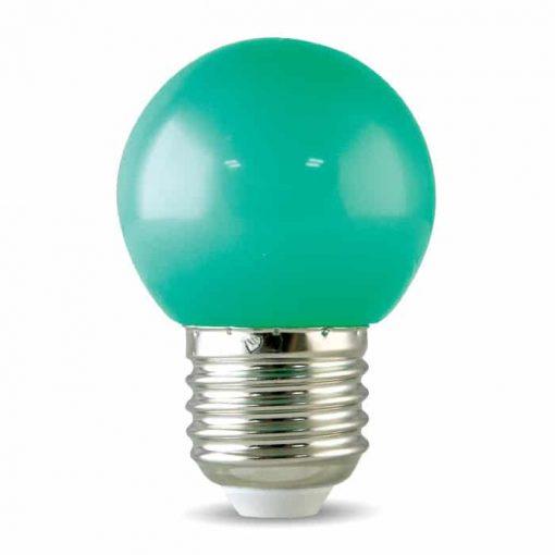 Đèn Led Bulb Trang Trí Rạng Đông Màu Xanh Lá